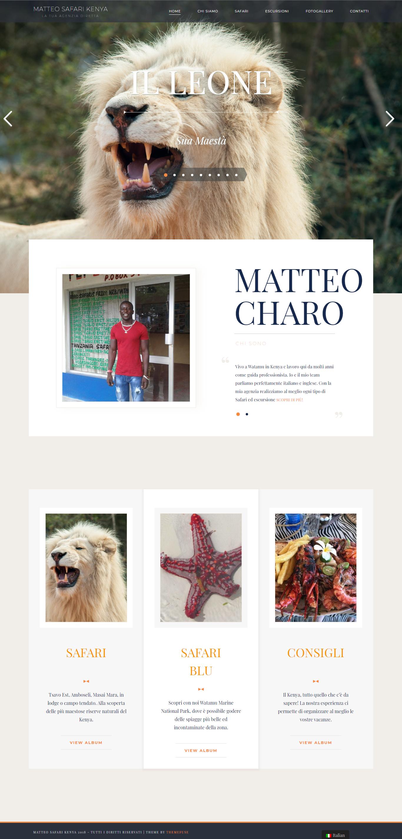Matteo Safari Kenya